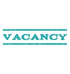 Vacancy Watermark Stamp vector