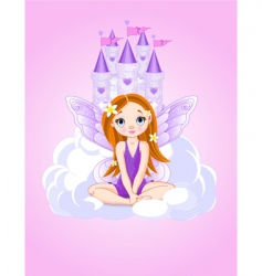 fairy icons vector image vector image