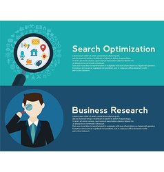 Search engine optimization programming business up vector