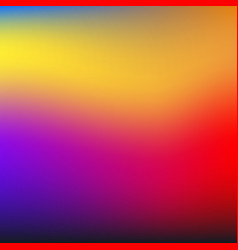 abstract colorful blurred backgrounds elements vector image