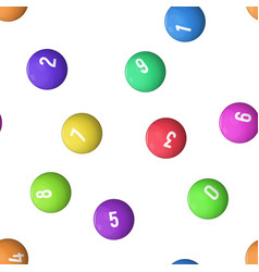 Balls for lottery vector