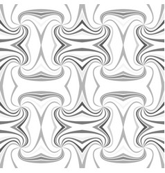 grey abstract psychedelic seamless striped vortex vector image