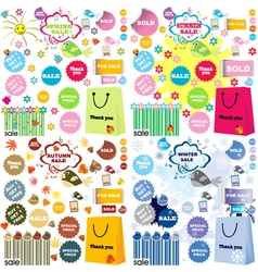 sales collection vector image