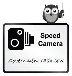 Speed Camera vector