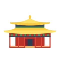 Beautiful asia travel temple vector image vector image