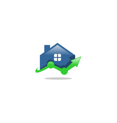 home finance logo vector image