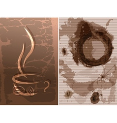 Abstract Coffee Background vector