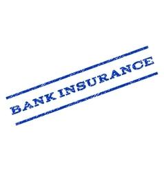 Bank Insurance Watermark Stamp vector image