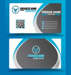 Best blue business cards design psd eps vector
