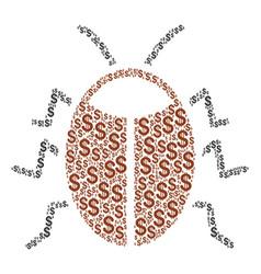 Bug composition of dollar vector