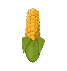 Ear of corn icon cartoon style vector image