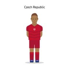 Football kit Czech Republic vector