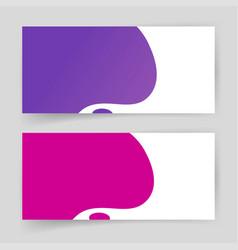 liquid fluid shapes abstract elements design vector image