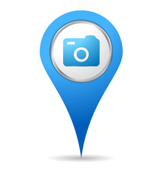 location camera icon vector image