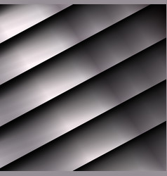 metal background with stripes vector image