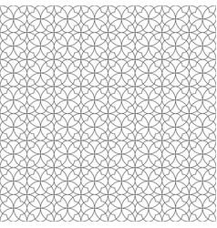 Seamless geometric pattern fine lines black vector
