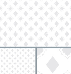 White vintage poker diamond distressed background vector