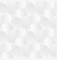 White paper 3d slim stripes small circle pin will vector