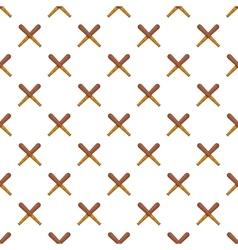 Bits pattern cartoon style vector