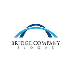 bridge icon logo vector image