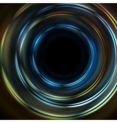 Dark backdrop vector image