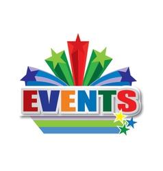 Events design vector