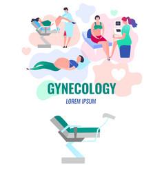 Gynecology vector