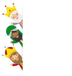 Three kings of orient vector