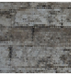 Triangle grayscale abstract background vector