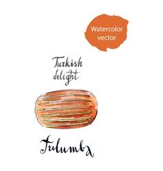 Tulumba vector image