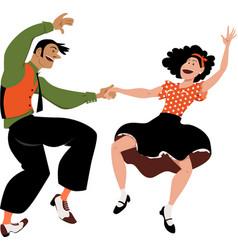 wild dance vector image
