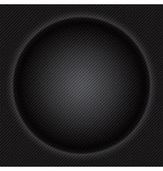 Carbon fiber circle texture luxury texture vector image