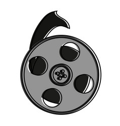 tape reel icon image vector image vector image