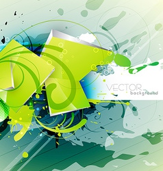 abstract grunge art vector image vector image