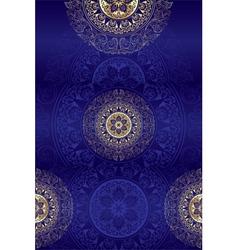 Set of violet vintage floral backgrounds vector image
