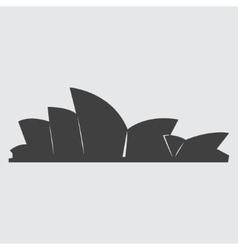 Sydney Opera House icon vector image vector image