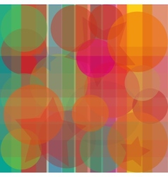 Abstract bright background transparent vector image