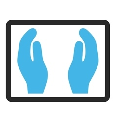 Applause Hands Framed Icon vector