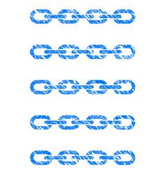 blockchain list icon grunge watermark vector image