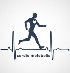 Cardio Metabolic Poster vector