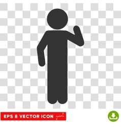 Child Opinion Eps Icon vector