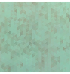 Green triangle abstract background vector