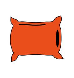 pillow dream symbol vector image