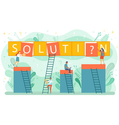 search for confused idea or problem doubt solution vector image