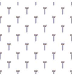 shaver razor pattern seamless vector image