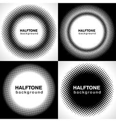 halftone1 vector image