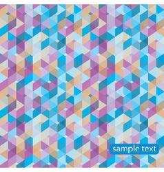 Two abstract lattice seamless patterns in vector image vector image