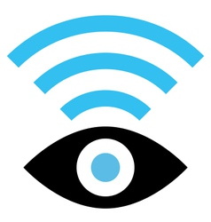 Spy WiFi icon vector image vector image