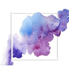 abstract watercolor banner vector image vector image