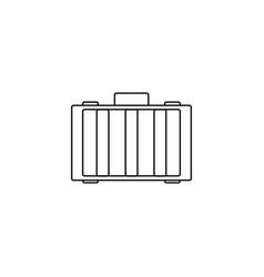drone case linear icon vector image